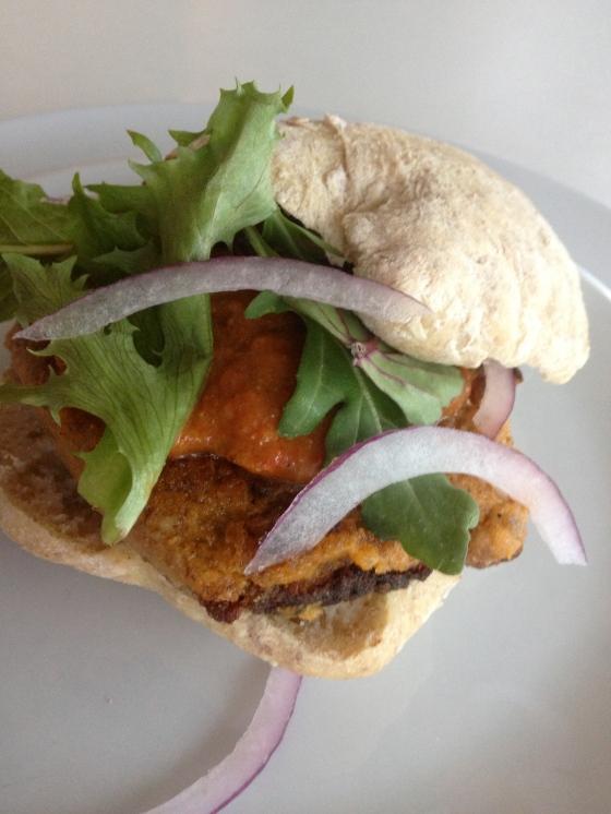 Moroccan Vegan Burger