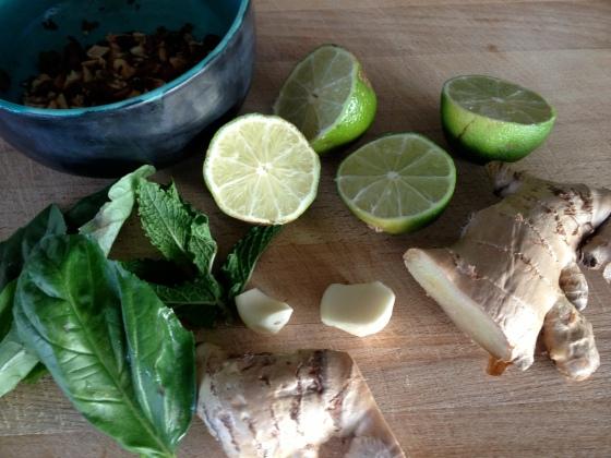 Fresh Thai pesto