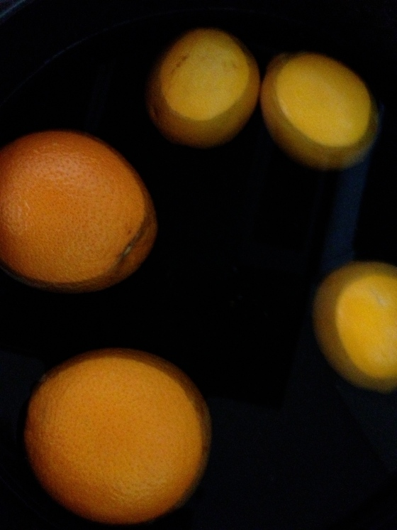 Oranges and Meyer Lemons