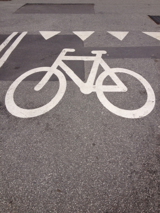 Bike lanes of course