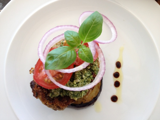 Mushroom Quinoa Steak