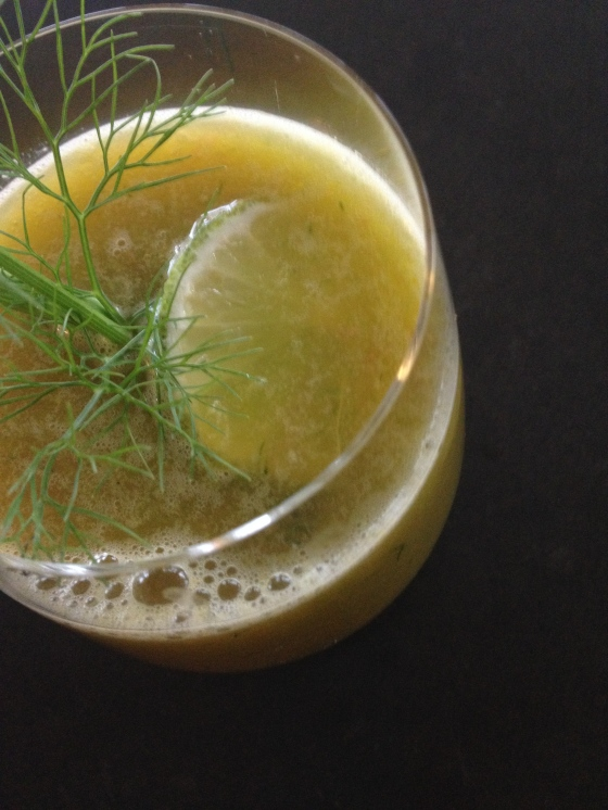 Kick Ass Juice with Fennel